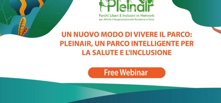 Un nuovo modo di vivere il parco: Pleinair, un parco intelligente per la salute e l'inclusione
