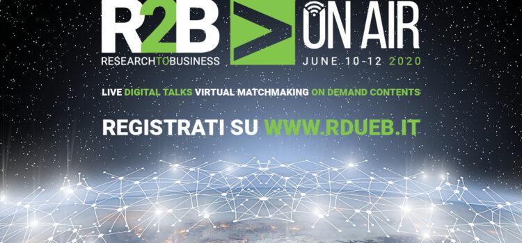 """Pleinair a """"R2B On Air"""": 11 e 12 giugno 2020"""