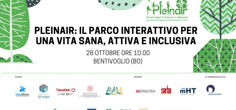 PLEINAIR: il parco interattivo per una vita sana, attiva e inclusiva